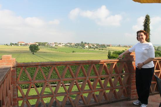 Villa Rosa dei Venti: The view from the veranda
