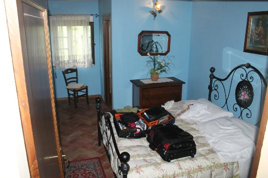 Villa Rosa dei Venti: One of the two bedrooms (they are identical)
