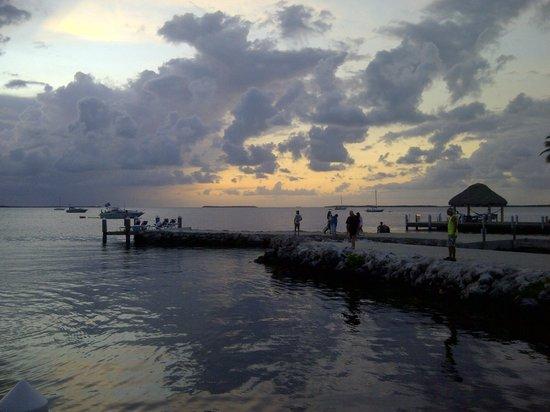 Bayside Inn Key Largo: Sunset
