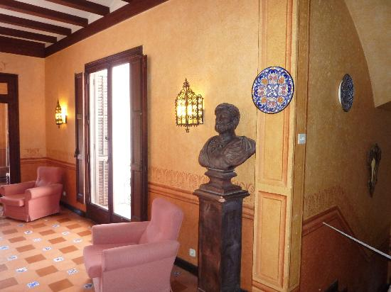 Hotel Capri: Large hall