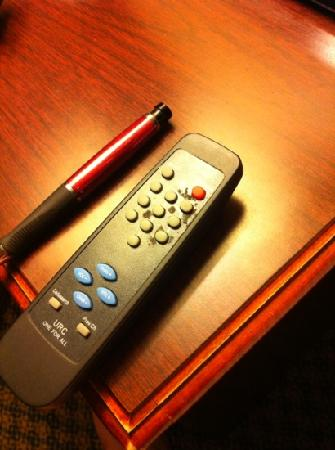 Days Inn Jennings : nasty remote control