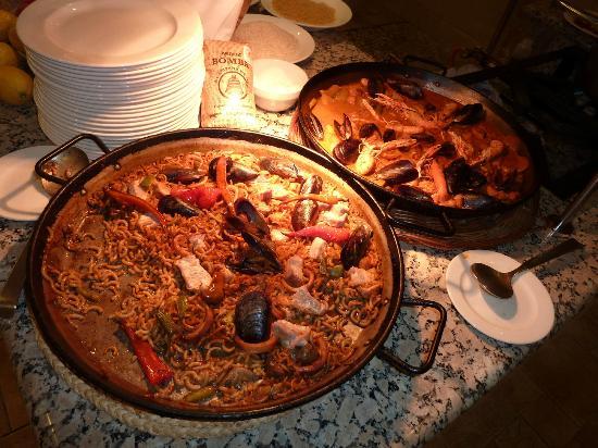 Hotel SH Villa Gadea : Delicious Spanish specialities.