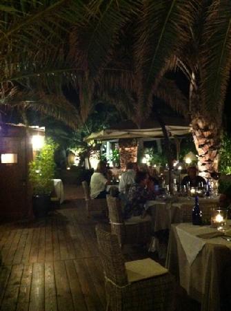 La Capanna - Osteria al Mare: zona ristorante