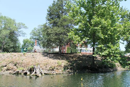 Inn on Crescent Lake: View from the lake.