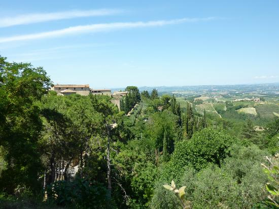 Agriturismo La Fonte: The view of the valley
