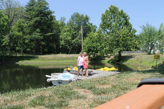 Inn on Crescent Lake: The lake
