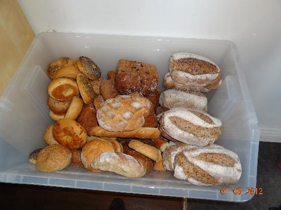 Wickham Retreat Backpackers: Free bread aplenty