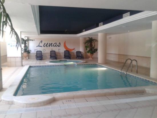 Indoor Swimming Pool Jacuzzi Picture Of Luna Park Hotel Malgrat De Mar Tripadvisor