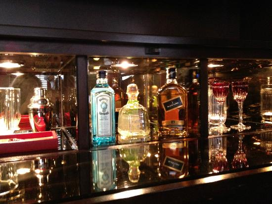 Gramercy Park Hotel: They open up your extra mini bar at night with the turn down service and leave you to this image