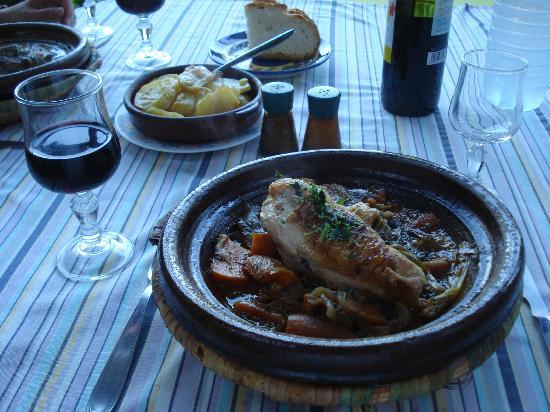 Family Agua Amarga: Dinner at the hotel restaurant