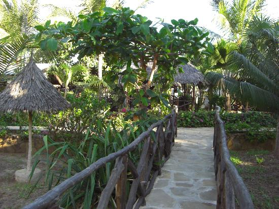 Tembo Village Resort Watamu: Tropical gardens