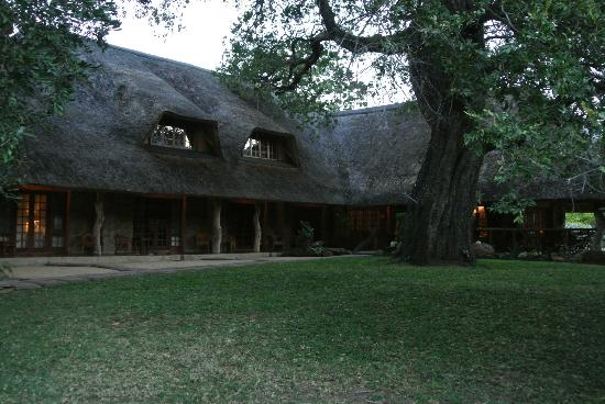Blyde River Canyon Lodge: Back side of the hotel