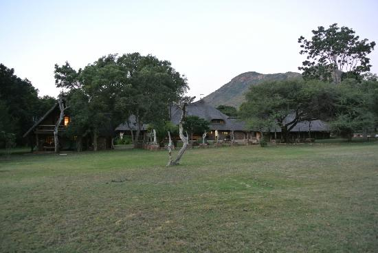 Blyde River Canyon Lodge: Beautiful gardens of the hotel property