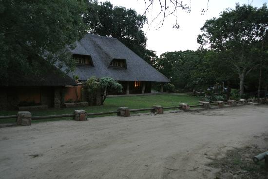 Blyde River Canyon Lodge: Front of the hotel