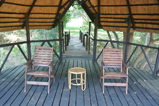 Blyde River Canyon Lodge: very cute sitting area with awesome views