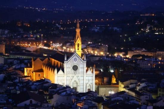 Hotel Santa Croce: Santa Croce di notte