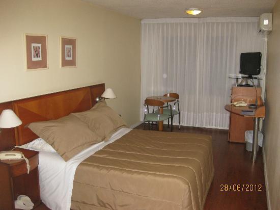 Pocitos Plaza Hotel: La habitacion