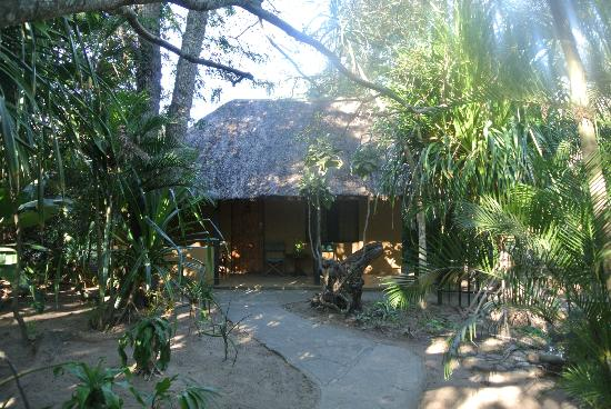 Wildebees Ecolodge: beautiful setting of the cabins