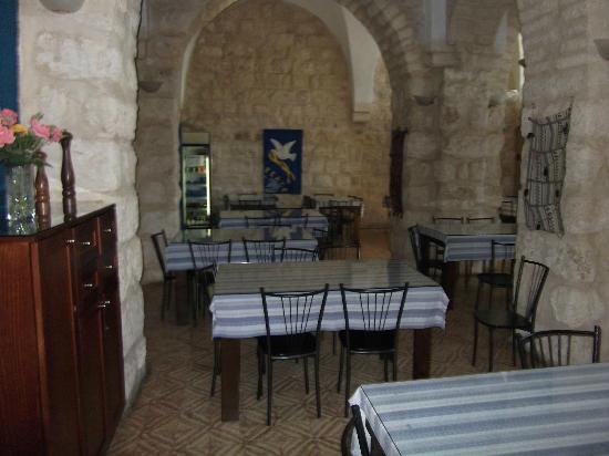 La Maison d'Abraham: Dining room