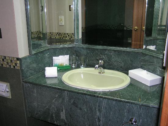 The Centrepoint Hotel: Wash basin & vanity