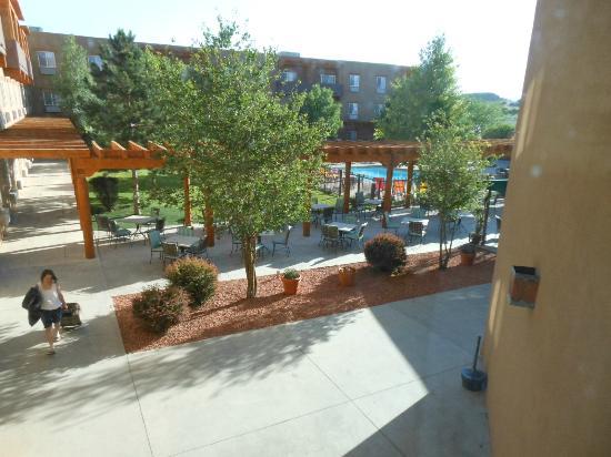 Sky City Casino Hotel and RV Park: outdoor pool area