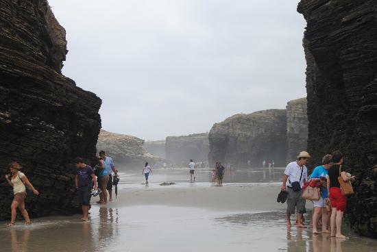 Playa de las Catedrales: Praya as catedrais