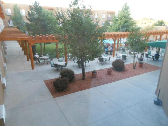 Sky City Casino Hotel and RV Park: patio and pool area