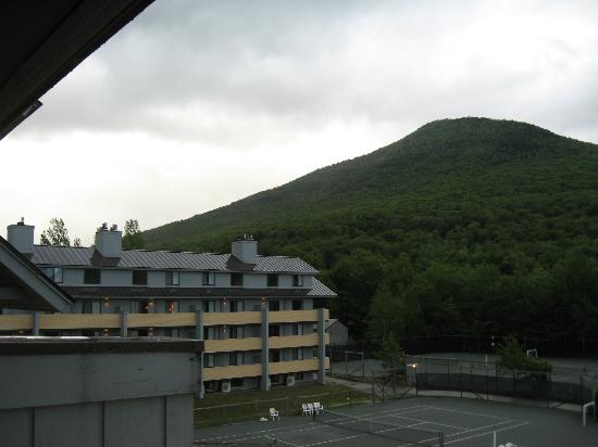 The Village Of Loon Mountain, a VRI resort: porch view-rear