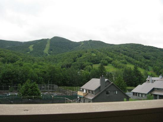 The Village Of Loon Mountain, a VRI resort: porch view of other buildings