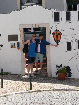 Lisbon Old Town Hostel: Entrance