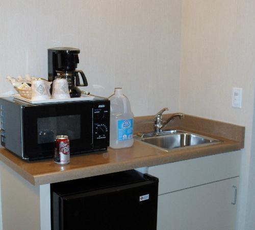 La Quinta Inn & Suites Fairfield - Napa Valley: Kitchenette