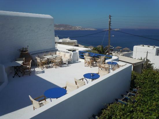 Hotel Spanelis: Terrazza