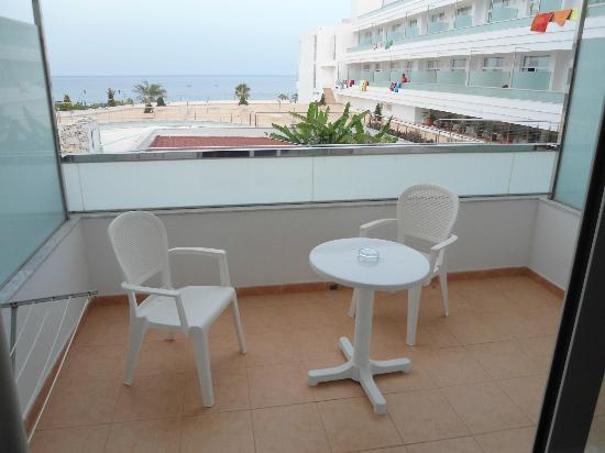 Servigroup Marina Playa: terraza y vistas
