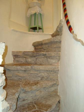 Trinity House B&B: secret staircase