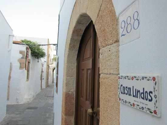 Casa Lindos from the outside