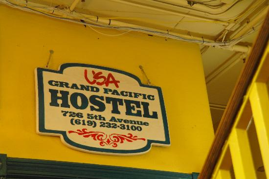 USA Hostels San Diego: Reception