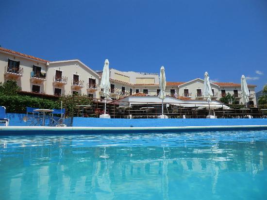 Karavados Beach Hotel: view from pool