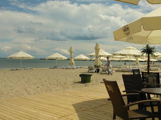 Sofitel Grand Sopot : At nearby beach restaurant