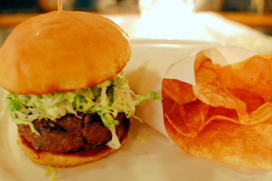 Back Bay Grill's Caesar Salad Burger-Limited Availabilty