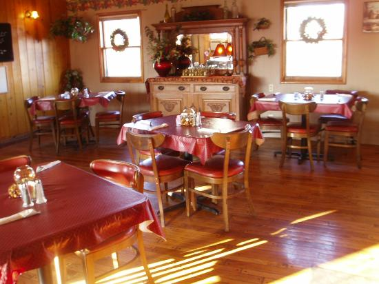 Village Motel & Country Haus Restaurant: great menu