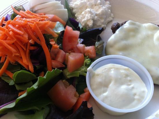 Bricks Restaurant: Diet Plate