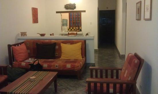 Casa Jaguar: View coming in the front door.