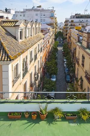 Hotel madrid de sevilla sevilla spanje foto 39 s for Hotel calle sevilla madrid