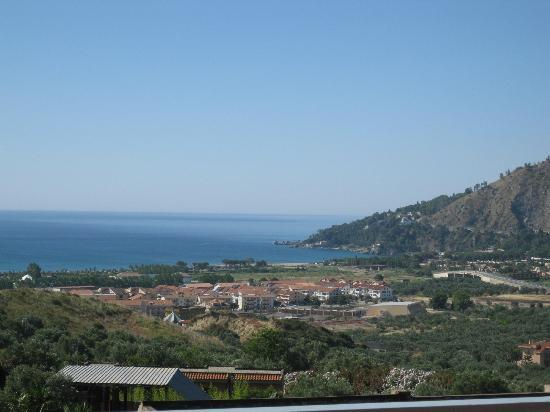 Squillace, Italy: La vista del golfo dalla mia camera