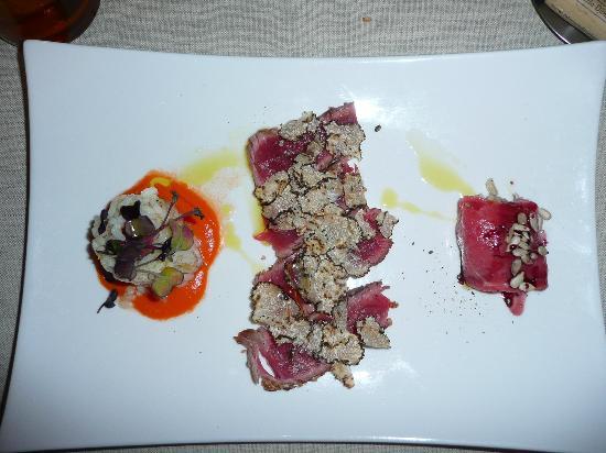 Osteria New Conte Max: beef