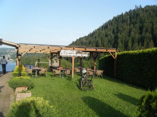 L'Auberge Au Bord du Lac : Terrasse