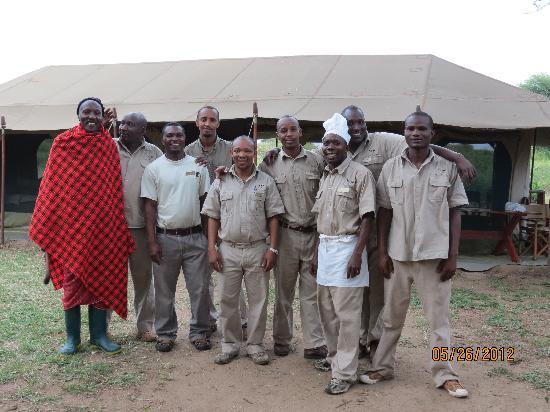 Lemala Manyara: staff at Manyara
