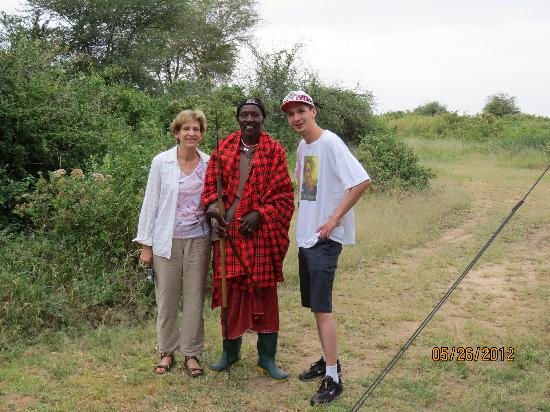 Lemala Manyara: Masaii guard 