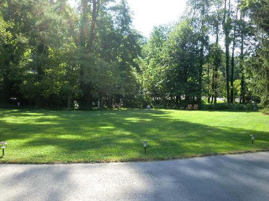 Brookside Mountain Mist Inn: Front Lawn