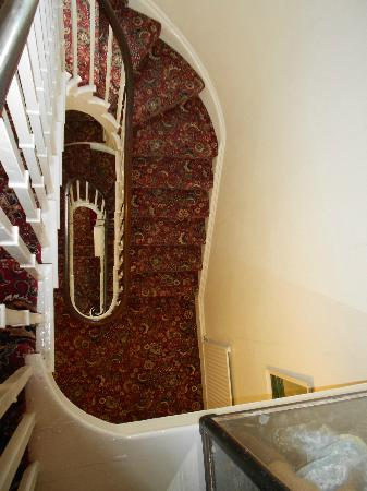 The Helmsman: Staircase - 4 floors.